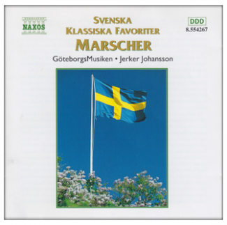 Svenska klassiska favoriter - Marscher. CD Arkiv B Ericson.