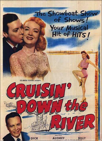 """Cruisin' Down The River"". Film från 1953."