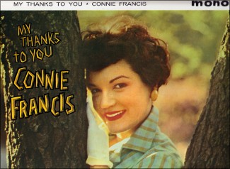 "Connie Francis. ""My Thanks To You""."