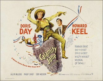 "CD SAM 0197. ""Calamity Jane"". Doris Day."