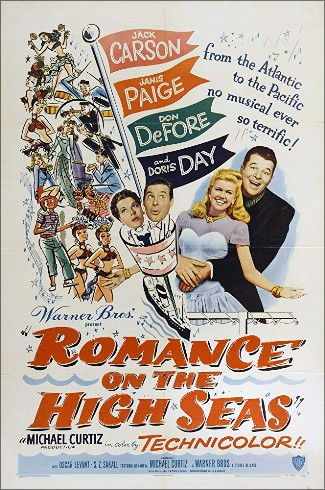 "CD SAM 0197. ""Romance On The High Seas"". Doris Day."