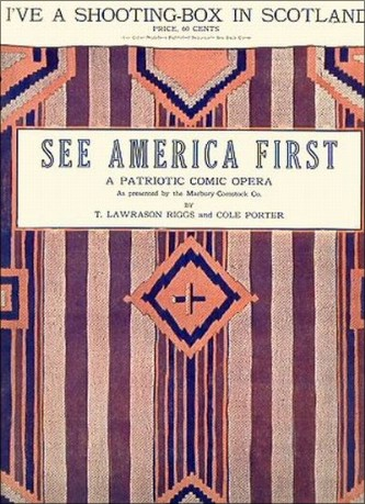 "Cole Porter, ""See America First"". Musikal 1916."