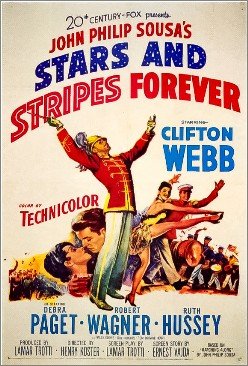 """Stars And Stripes Forever"". Film från 1952. 78 SAM 0146."