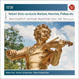 Stolz, Robert (1880-1975). Waltzes, Marches, Polkas etc. RCA Red Seal 12 CD.