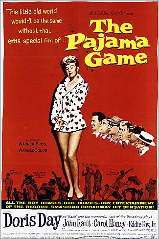"CD SAM 0197. ""The Pajama Game"". Doris Day John Raitt."