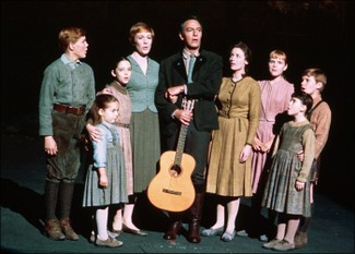 "The von Trapp Family in ""The Sound Of Music""."